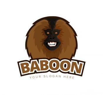 Baboon Logo & Business Card Template