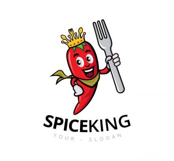 Spice King Logo & Business Card