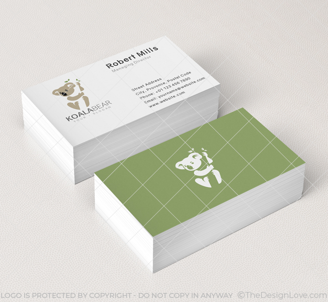 Koala-Logo-Business-Card-Mockup