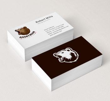 Angry-Bear-Business-Card-Mockup