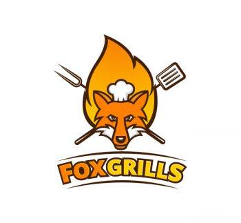 Fox Grills Logo & Business Card Template