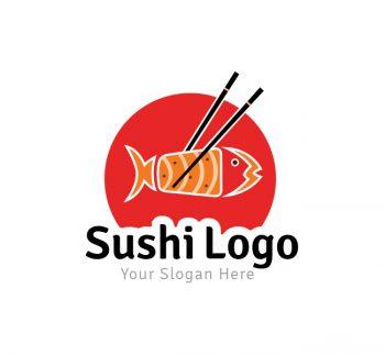 Sushi Logo & Business Card Template