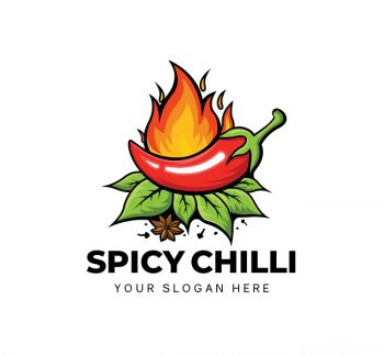 Spicy Chilli Logo & Business Card Template