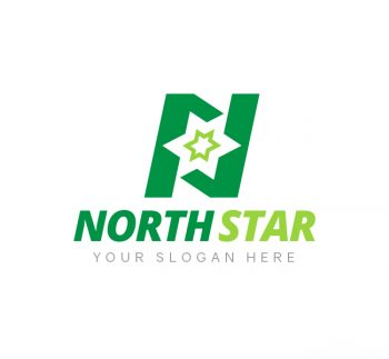 North Star Logo & Business Card