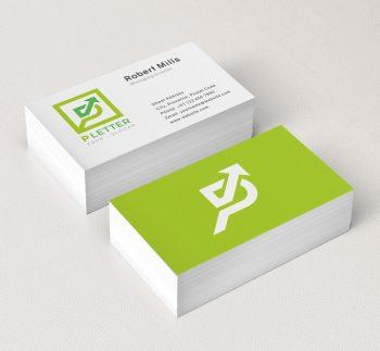 P-Letter-Business-Card-Mockup