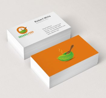 O-Letter-Organic-Food-Business-Card-Mockup