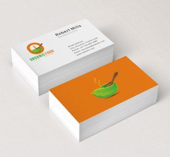 O-Letter-Organic-Food-Business-Card-Mockup
