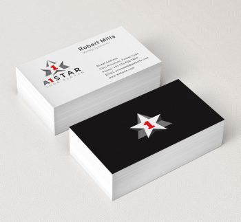 A1-Star-Business-Card-Mockup