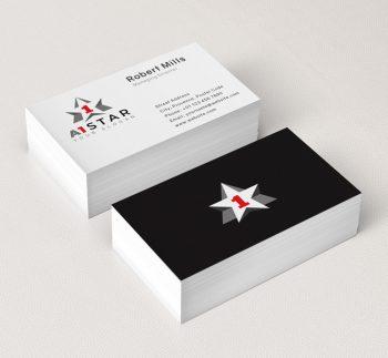 A1-Star-Business-Card-Mockup