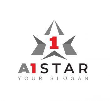 A1 Star Logo & Business Card