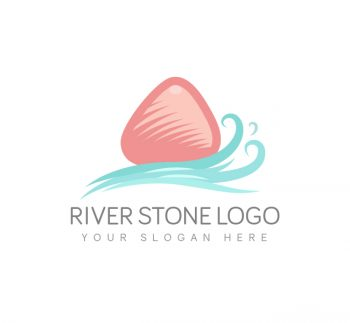 River Stone Logo & Business Card