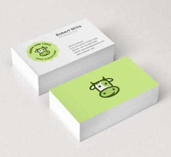 Eco-Cow-Business-Card-Mockup