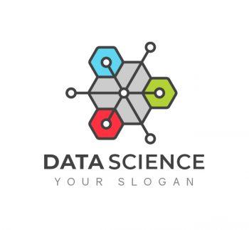 Digital Data Science Logo & Business Card