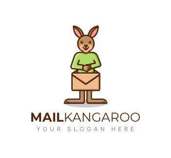 Mail Kangaroo Logo & Business Card