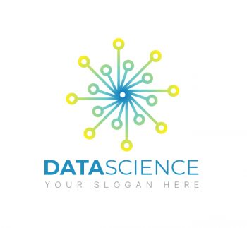 Simple Data Science Logo & Business Card