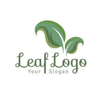 Leaf Logo & Business Card