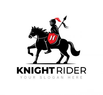 Knight On Horse Logo & Business Card