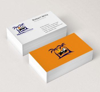 Panda-Travel-Business-Card-Mockup