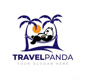 Panda Travel Logo & Business Card