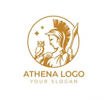 Athena Logo & Business Card Template