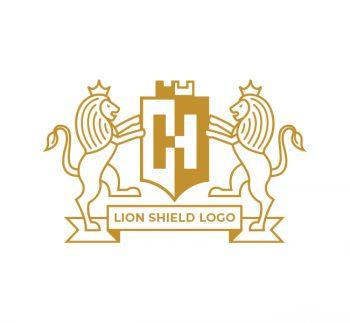Lion Shield Logo & Business Card