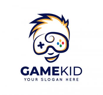 Kid Game Logo & Business Card