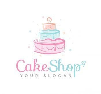 Cake Logo & Business Card Template