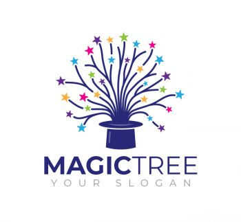 Magic Tree Logo & Business Card