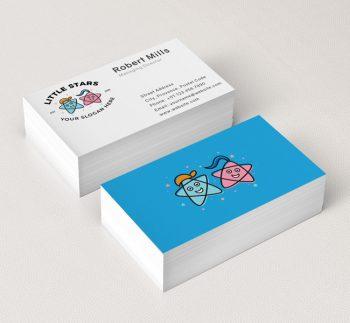 Little-Stars-Play-School-Business-Card-Mockup