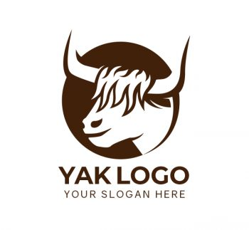 Yak Logo & Business Card