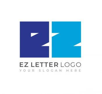 EZ Letter Logo & Business Card