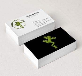 528-Green-Frog-Business-Card-Mockup