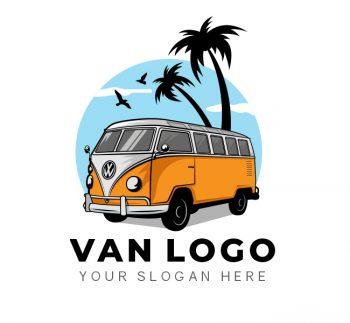 Van Travel Logo & Business Card Template