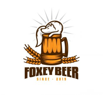 Fox Beer Logo & Business Card Template