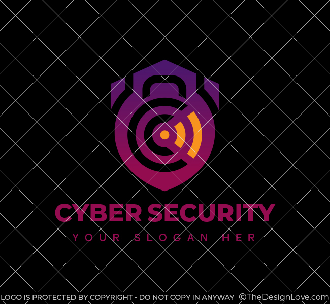Cyber-Security-Stock-Logo