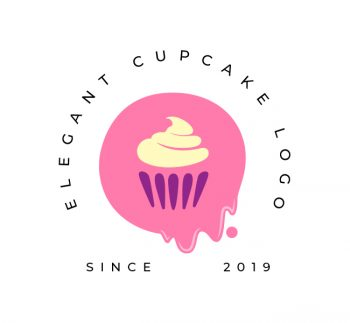 Elegant Cupcake Logo & Business Card