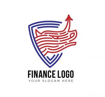 Rhino Finance Logo & Business Card