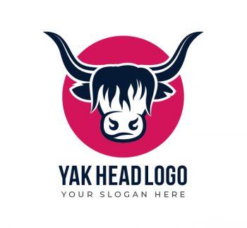 Yak Head Logo & Business Card