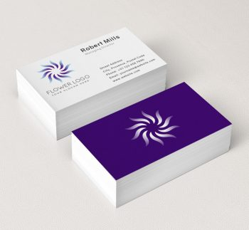 548-Simple-Flower-Business-Card-Mockup