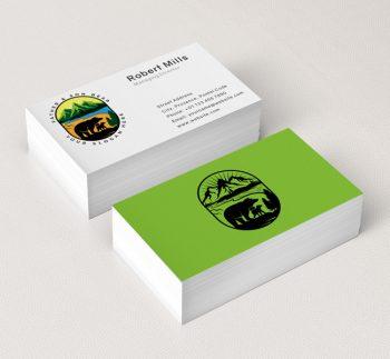 551-Illustrative-Bear-Business-Card-Mockup