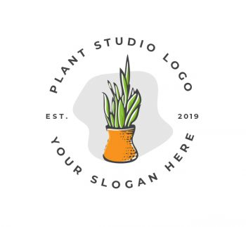 Plant Decor Logo & Business Card