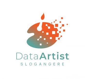 Data Artist Logo & Business Card
