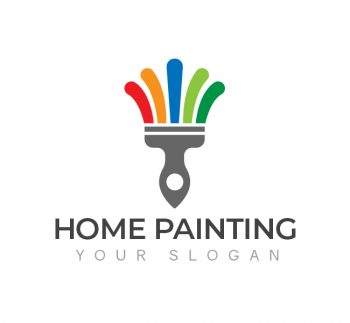 Home Painting Logo & Business Card