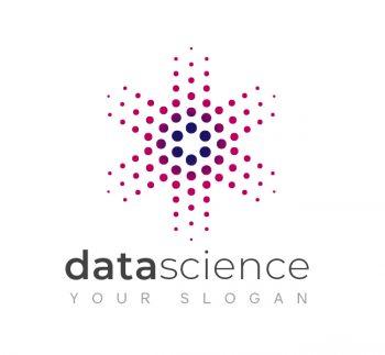 Modern Data Science Logo & Business Card