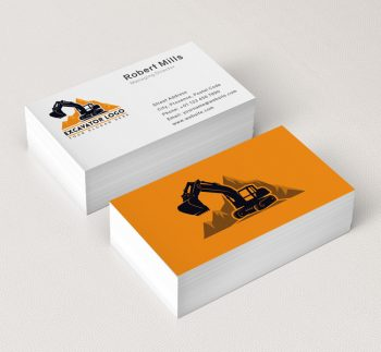 568-Simple-Excavator-Truck-Business-Card-Mockup