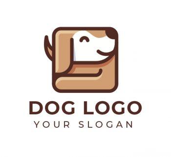 Dog Logo & Business Card Template
