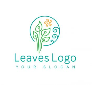 Green Leaves Logo & Business Card