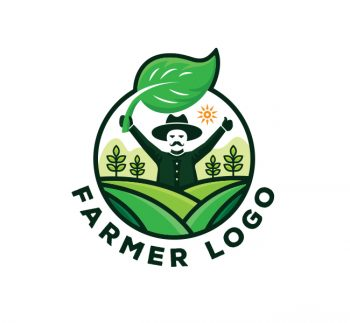 Farmer Logo & Business Card Template
