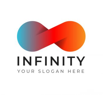 Simple Infinity Logo & Business Card