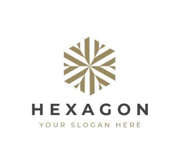 Hexagon Logo & Business Card Template